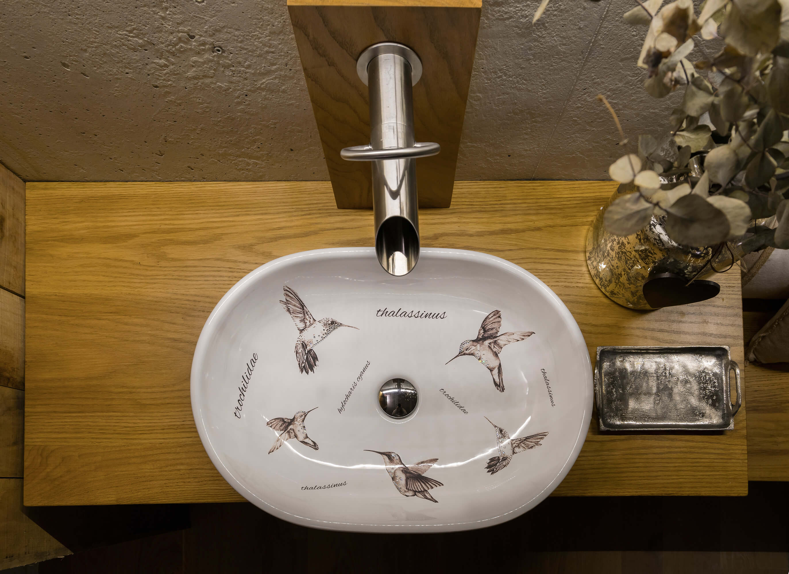Lavabo colibrí de Bathco Atelier