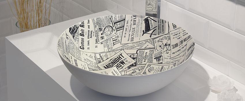 vasque à poser collection PRENSA de Bathco