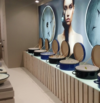 Atelier´s washbasins will be present at Cersaie 2015