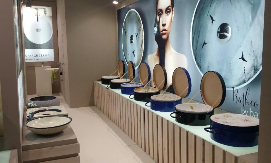 Atelier´s washbasins will be present at Cersaie 2015